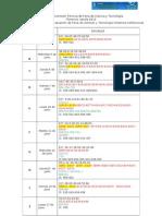 Cronograma INSTANCIA ESCOLAR 2013