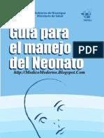 Guía para el manejo del neonato