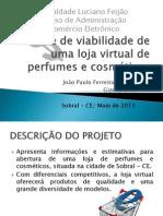 apresentação loja virtual