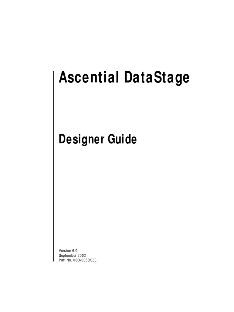 Ds designer guide | data warehouse | bracket.