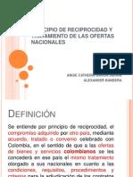 PRINCIPIO DE RECIPROCIDAD Y TRATAMIENTO DE LAS OFERTAS (1).ppt