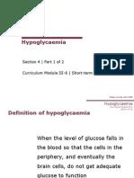 4 1 Hypoglycemia