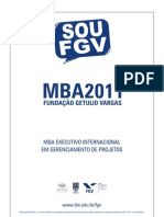 MBA em PROJ 2011