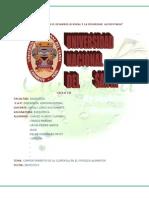 Comportamiento de La Clorofila en El Proceso de Alimentos