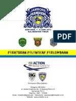 Peraturan Pelengkap Perlombaan - Kejurnas Time Rally Kaltim 7-8 Juni 2013