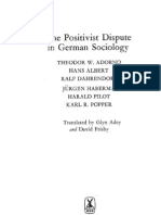 The Positivist Dispute