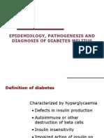 Epidemilogi, Patogenesis & Diagnosis DM