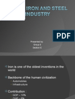 Indian Iron and Steel Industry