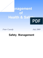 Health & Safety Management