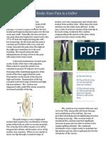 case study-knee pain in golfer