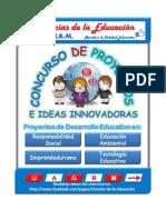 Concurso de Proyectos Educativos E Ideas Innovadoras