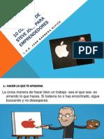 10 Consejos de Steve Jobs Para Emprendedores