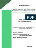 M11 Marketing Et Commercialisation d'Une Prestation Logistiquee-TR-TSETR