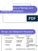 Benign and Malignant Neoplasm - Differentiation