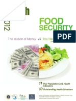 Thaihealth 2012 Food Security the Illusion of Money vs the Reality of Food