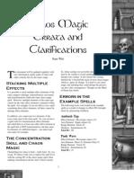 Chaos Magic - Web Enhancement