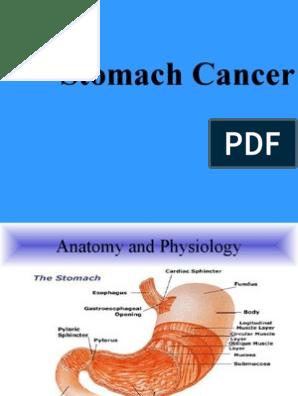 cancerul gastric scribd