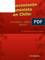 Movimiento Feminista en Chile, Conceptos, Objetivos y Efectos