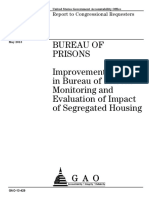 Bureau of Prisons: