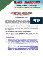 TANGGAPAN ATAS DOKTRIN SELAMAT KARENA PERBUATAN BAIKNYA PDT. PARIADJI.pdf