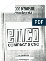 Mode d'Emploi - Emco Compact 5 CNC