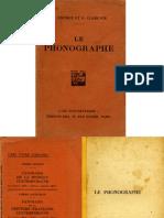 Le Phonographe-1929