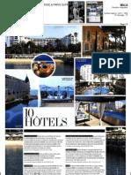 L.Raphael Beauty Spa As A Top 10 Hotel/Spa in Cannes (L'Officiel de la Couture et Mode, May 2013)