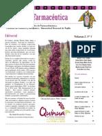 Boletín Botánica Farmacéutica Vol 2 N 1