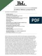 ¿De las armas a la política_ Dilemas y perspectivas de paz en Colombia