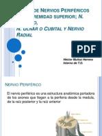 Lesión de Nervios Periféricos, mediano, ulnar y radial