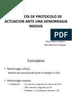 Hemorragia Masiva