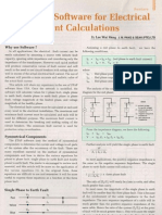 Electrical Fault Current Calculations