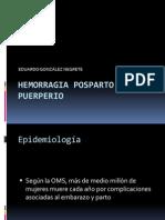 20100211 Hemorragia Posparto y Puerperio e Gonzalez