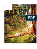 ISKCON desire tree - Antya Leela Sanatana Goswami Visits Lord