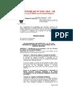 PROYECTO DE LEY Nº 2234