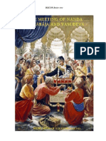 ISKCON desire tree - Meeting Of Nand Maharaja And Vasudeva