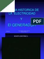 Reseña histórica generador
