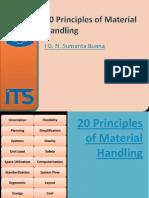 Material Handling - Principles