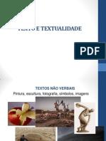 Aula 5 Texto e Textualidade