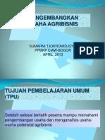 Mengembangkan Usaha Agribisnis (PMT)