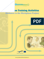 Report on Training Activities