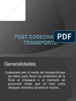 Transporte Post Cosecha IX