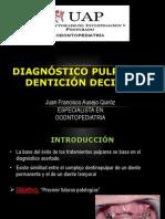 Diagnostico Pulpar en Denticion Decidua