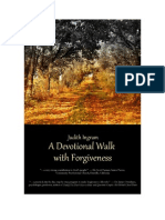 A Devotional Walk With Forgiveness - Week 1 Day 1