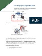 Mengenal Turbocharger Pada Engine Alat Berat