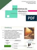 02 Teorias Escolasticas de La Bauhaus