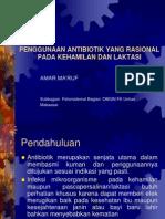 Penggunaan Antibiotik yang Rasional pada Kehamilan dan Laktasi.ppt