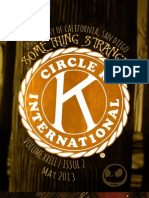 UCSD Circle K Newsletter - May 2013