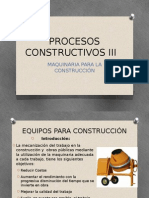 Maquinaria Para La Construccion