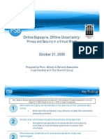 American Online Data Security Survey